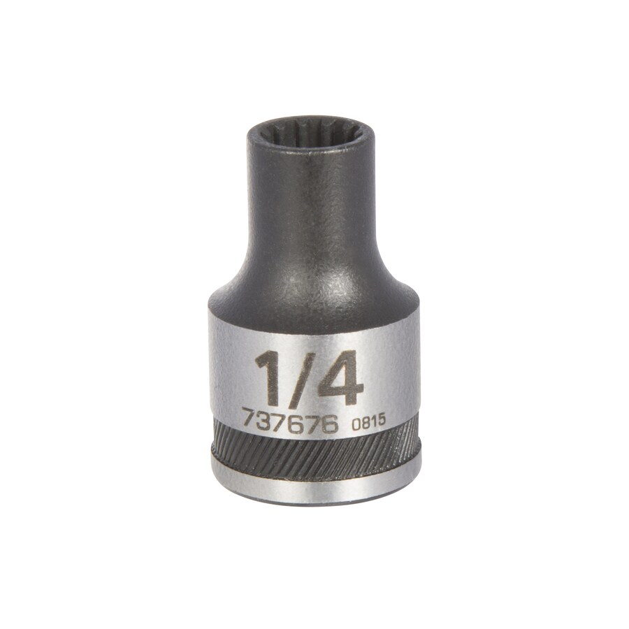 Kobalt 3/8-in Drive 1/4-in Shallow 12-Point Standard (SAE) Socket