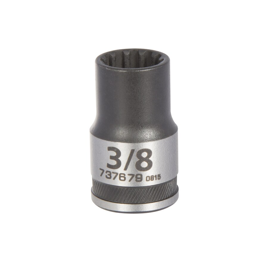 Kobalt 3/8-in Drive 3/8-in Shallow 12-Point Standard (SAE) Socket