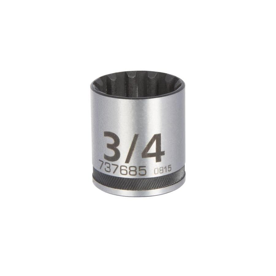 Kobalt 3/8-in Drive 3/4-in Shallow 12-Point Standard (SAE) Socket