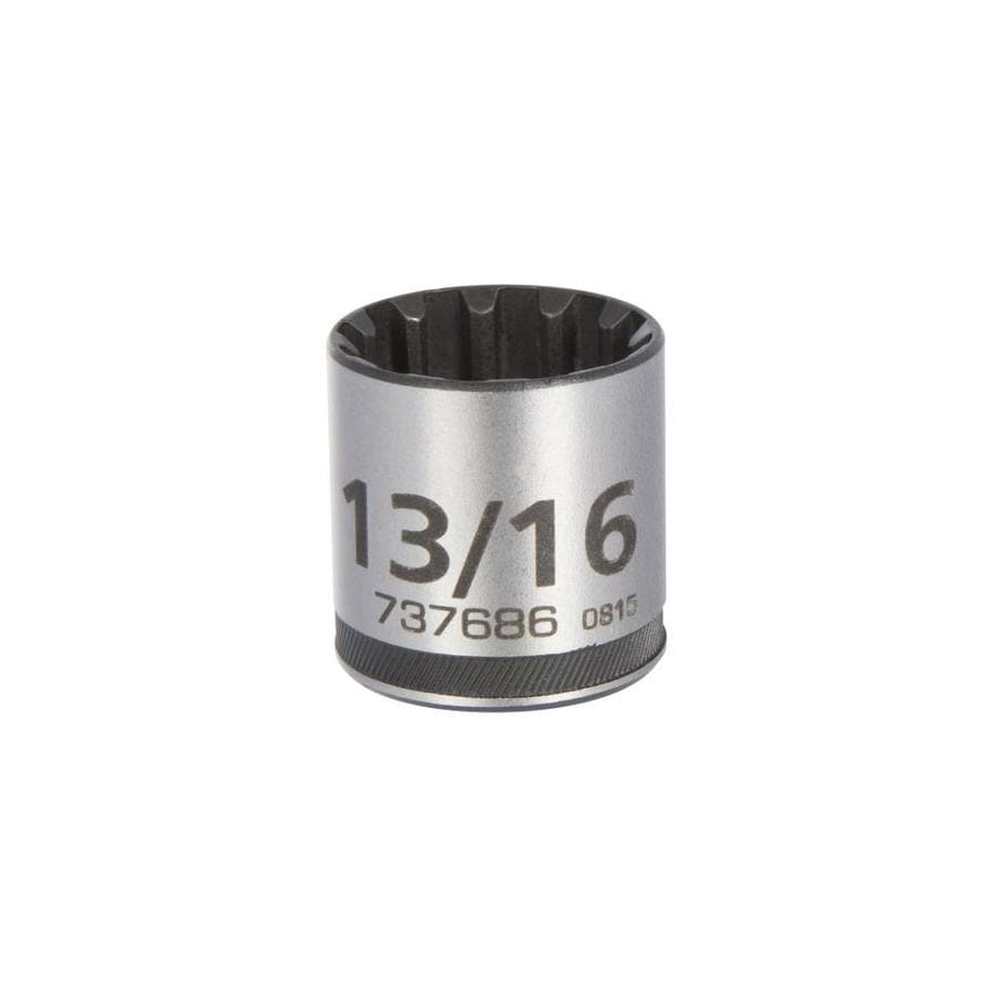 Kobalt 3/8-in Drive 13/16-in Shallow 12-Point Standard (SAE) Socket