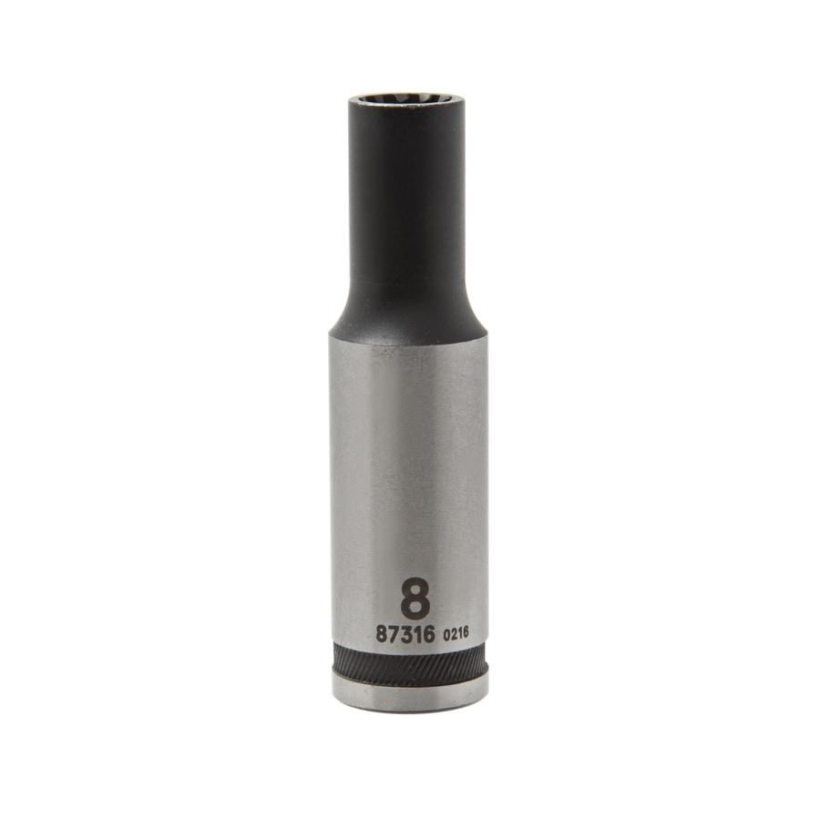 Kobalt 3/8-in Drive 8mm Deep Spline Metric Socket