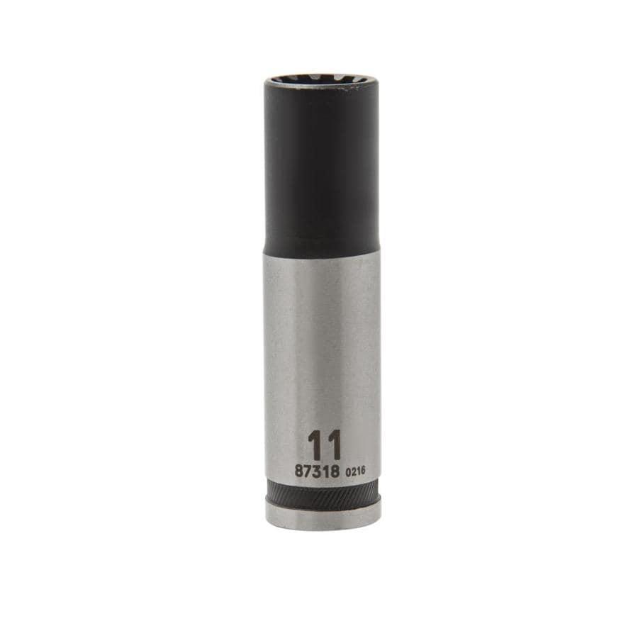 Kobalt 3/8-in Drive 11mm Deep Spline Metric Socket