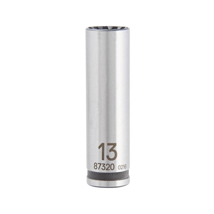 Kobalt 3/8-in Drive 13mm Deep Spline Metric Socket