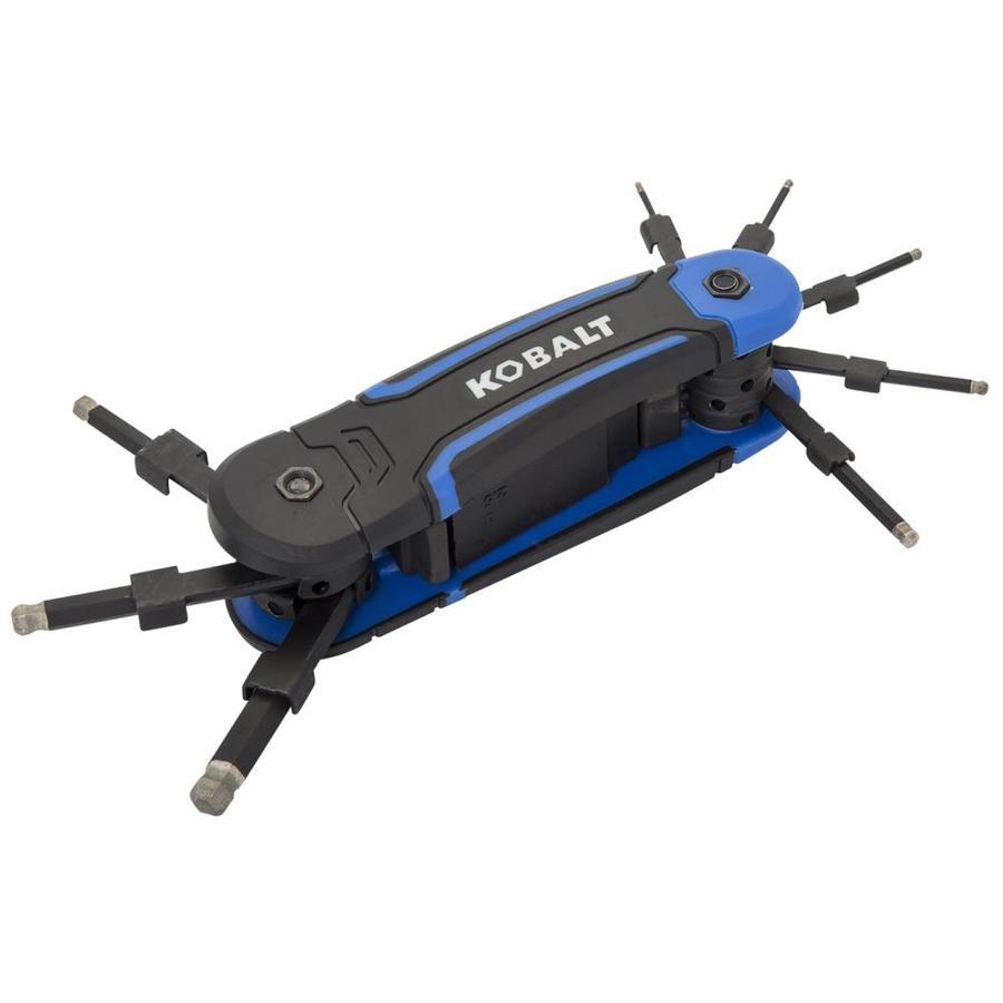 Kobalt 8-Key Folding Hex Key Set
