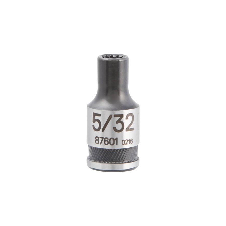 Kobalt Universal 1/4-in Drive 5/32-in Shallow Spline Standard (SAE) Socket