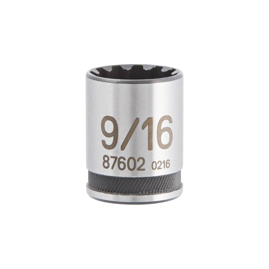 Kobalt 1/4-in Drive 9/16-in Shallow Spline Standard (SAE) Socket