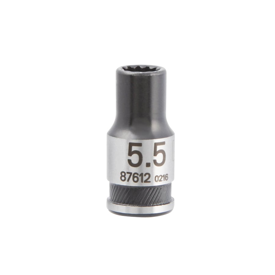 Kobalt Universal 1/4-in Drive 5.5mm Shallow Spline Metric Socket
