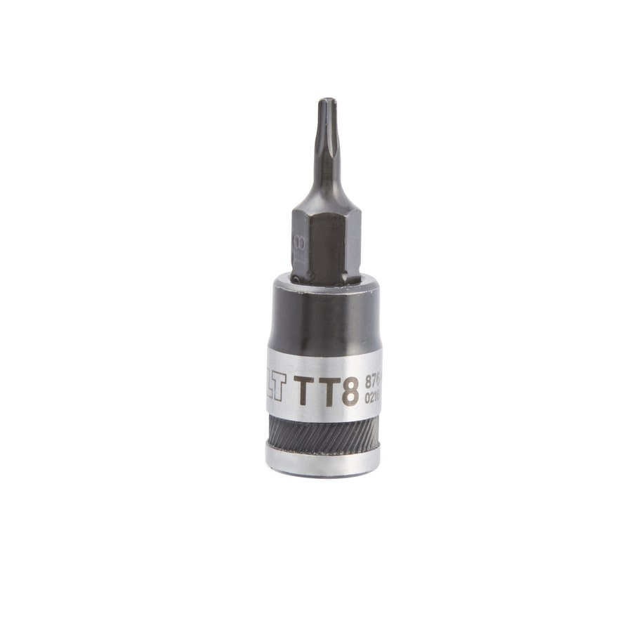Kobalt 1/4-in Drive Tamper-Proof Torx Driver Socket