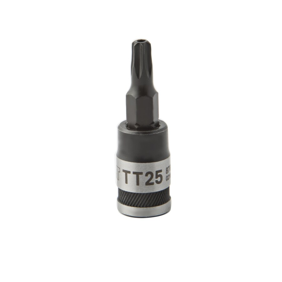Kobalt 1/4-in Drive Tamper-Proof Torx 0.7-in Driver Socket