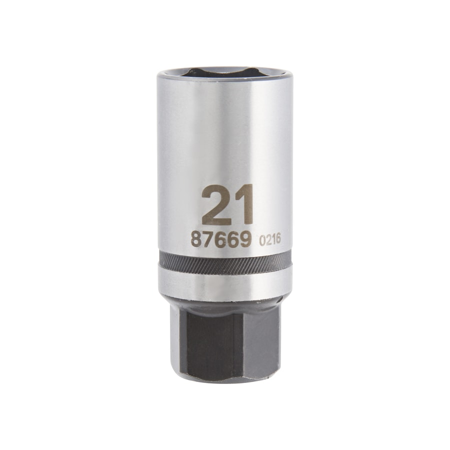 Kobalt 3/8-in Drive 21mm Spark Plug 6-Point Metric Socket