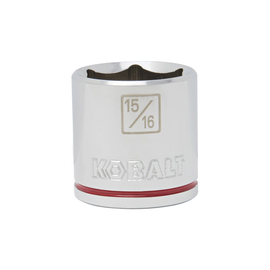 Kobalt 3/8-in Drive 15/16-in Shallow 6-Point Standard (SAE) Socket