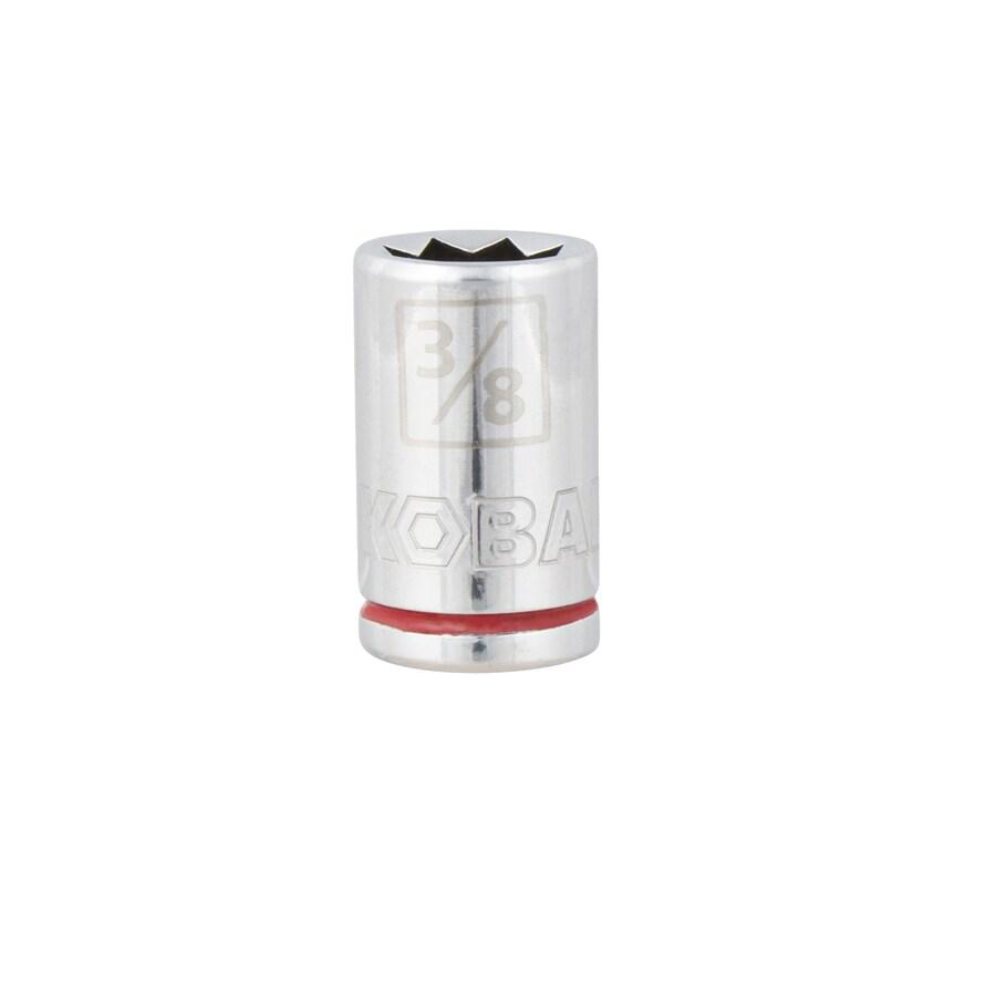 Kobalt 3/8-in Drive 3/8-in Shallow 8-Point Standard (SAE) Socket