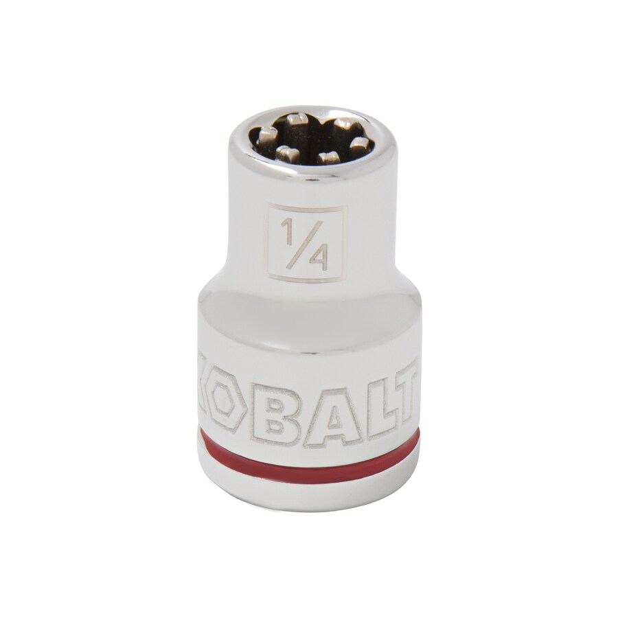 Kobalt 3/8-in Drive 1/4-in Shallow 6-Point Standard (SAE) Socket