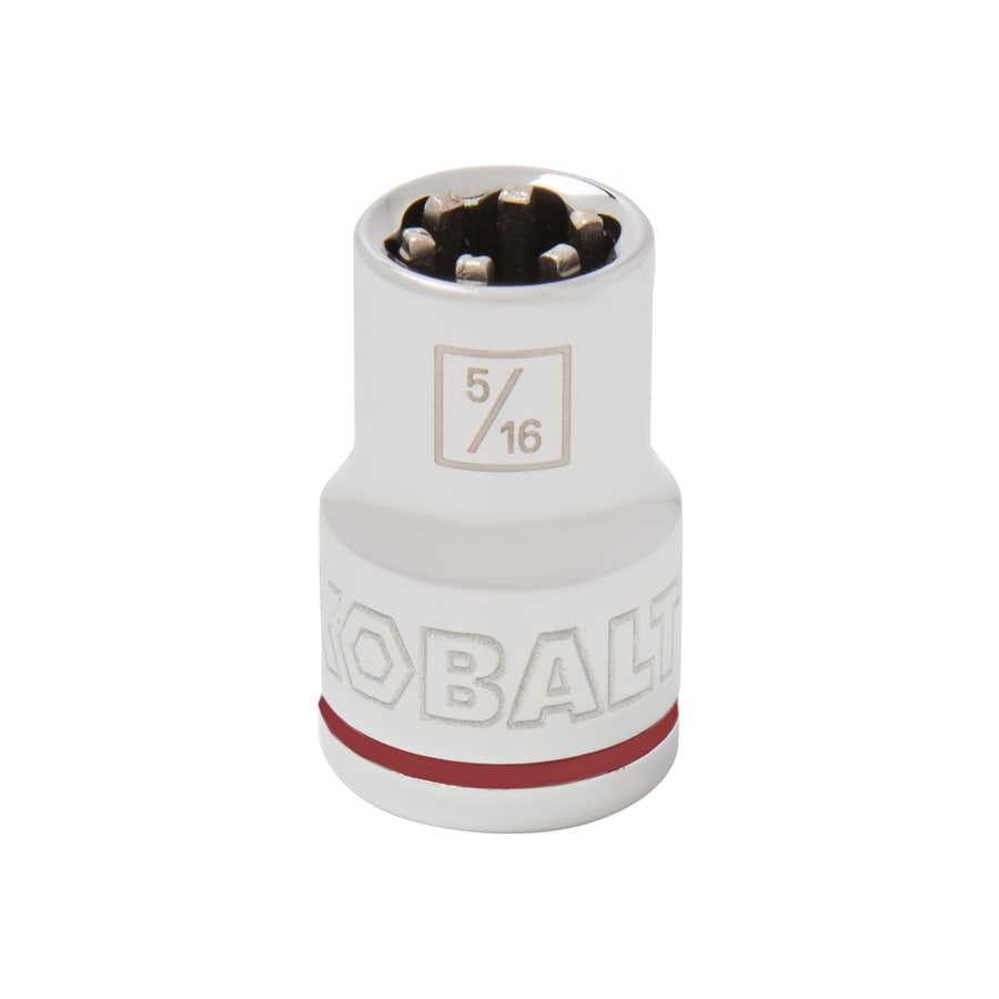 Kobalt 3/8-in Drive 5/16-in Shallow 6-Point Standard (SAE) Socket