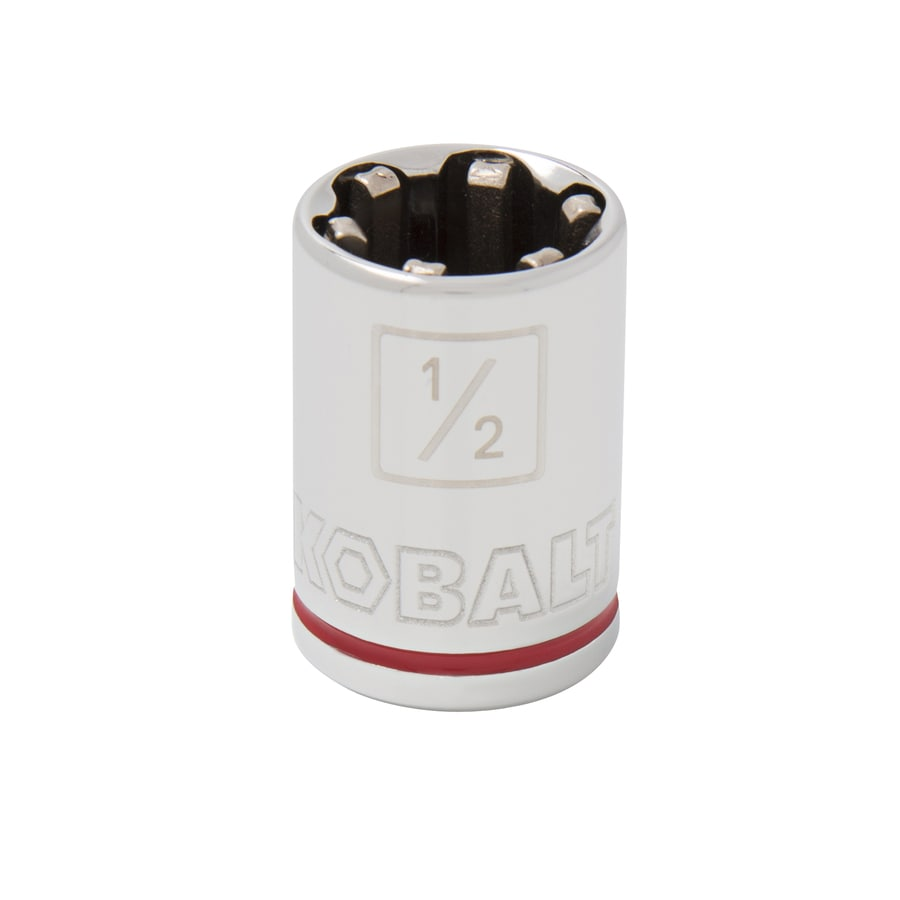 Kobalt 3/8-in Drive 1/2-in Shallow 6-Point Standard (SAE) Socket