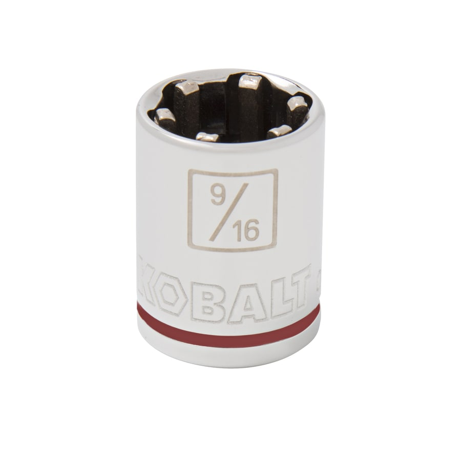 Kobalt 3/8-in Drive 9/16-in Shallow 6-Point Standard (SAE) Socket
