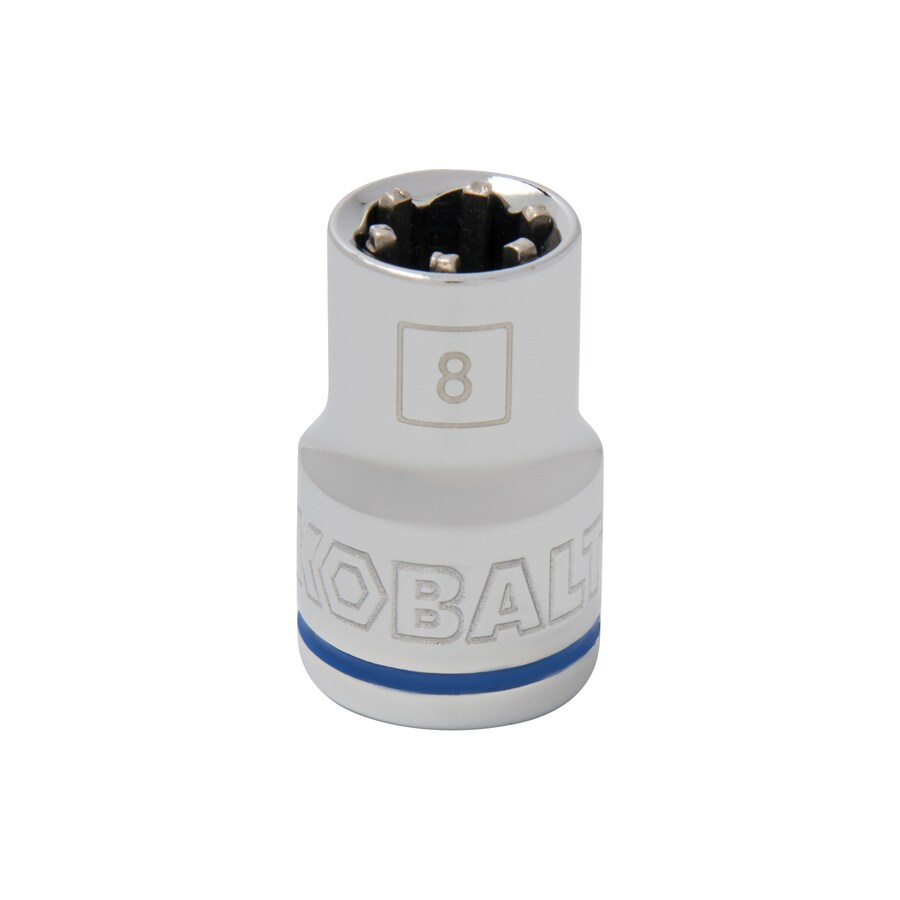 Kobalt 3/8-in Drive 8mm Shallow 6-Point Metric Socket