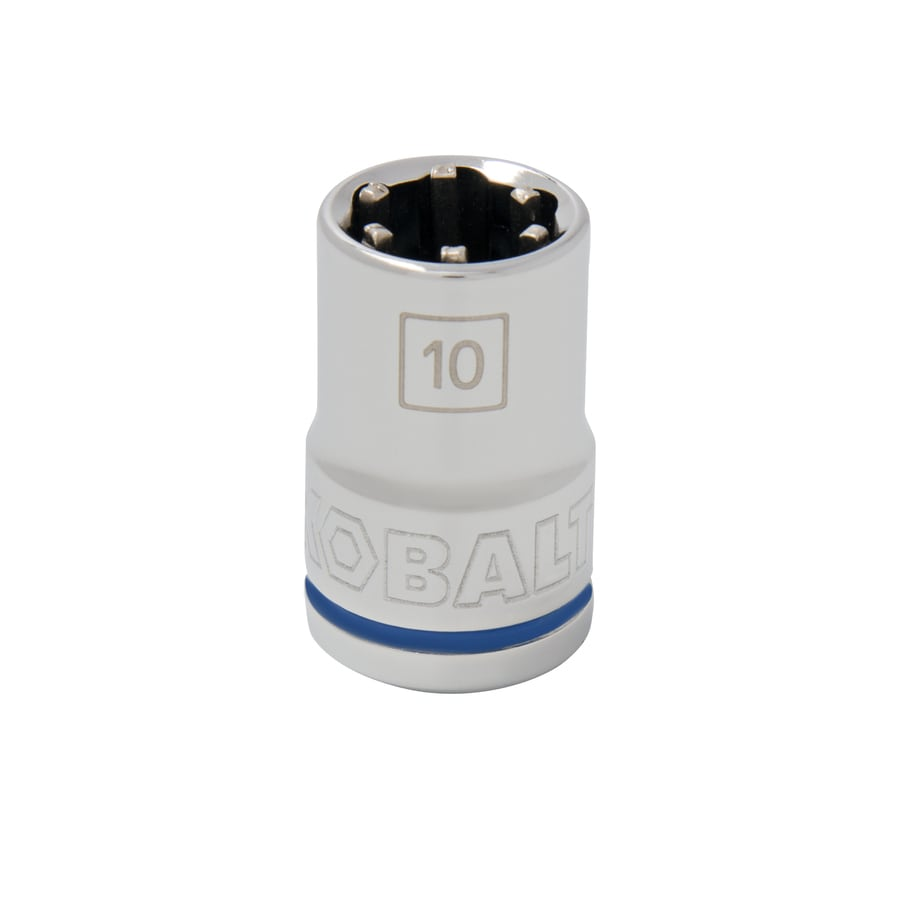 Kobalt 3/8-in Drive 10mm Shallow 6-Point Metric Socket