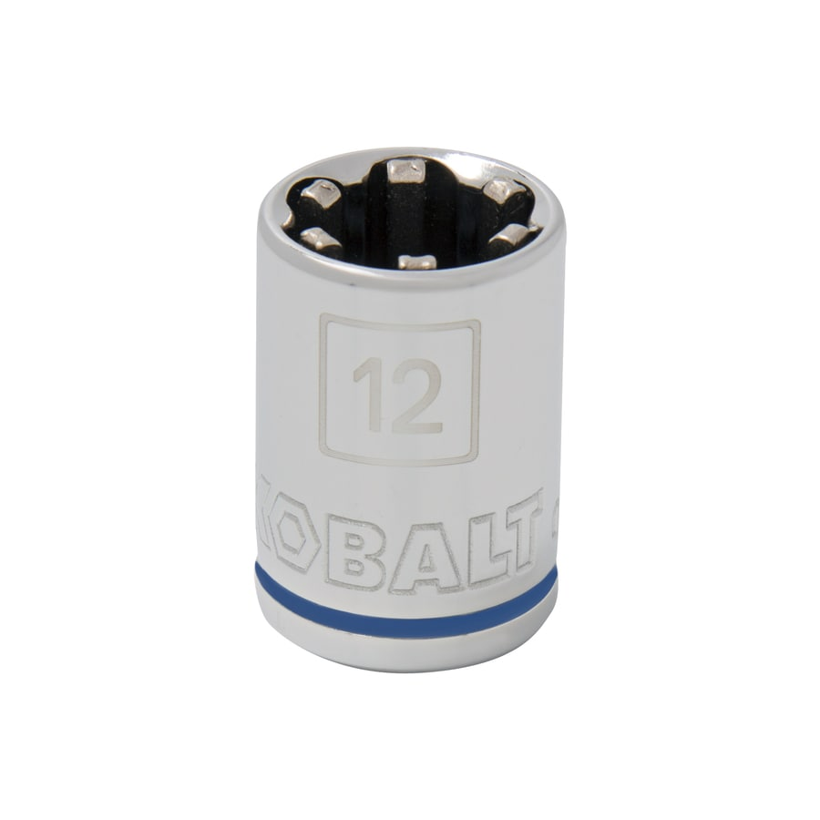 Kobalt 3/8-in Drive 12mm Shallow 6-Point Metric Socket