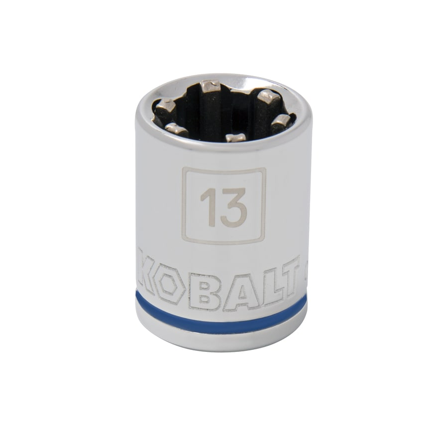 Kobalt 3/8-in Drive 13mm Shallow 6-Point Metric Socket