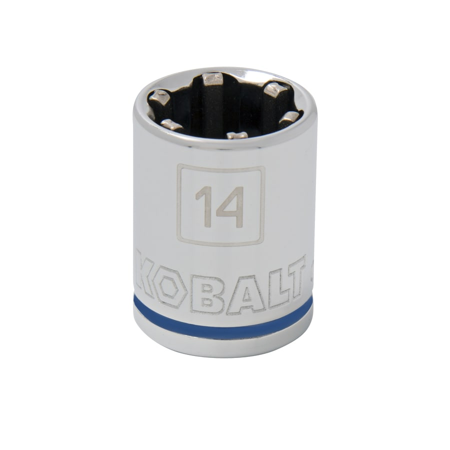 Kobalt 3/8-in Drive 14mm Shallow 6-Point Metric Socket