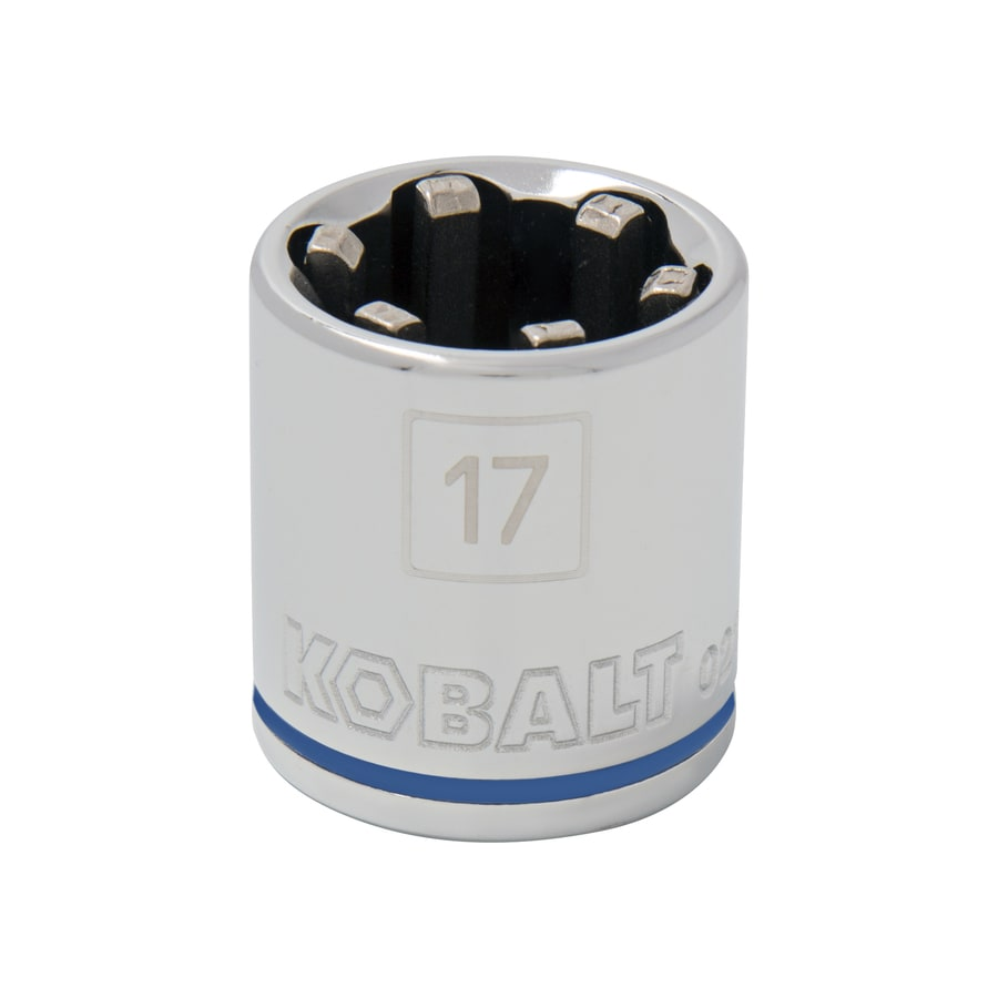 Kobalt 3/8-in Drive 17mm Shallow 6-Point Metric Socket