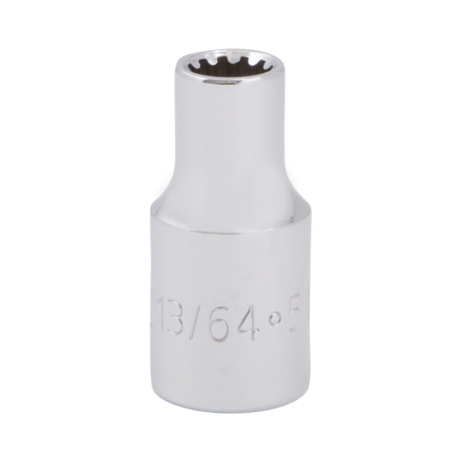 Kobalt 1/4-in Drive 13/64-in Shallow Spline Standard (SAE) Socket