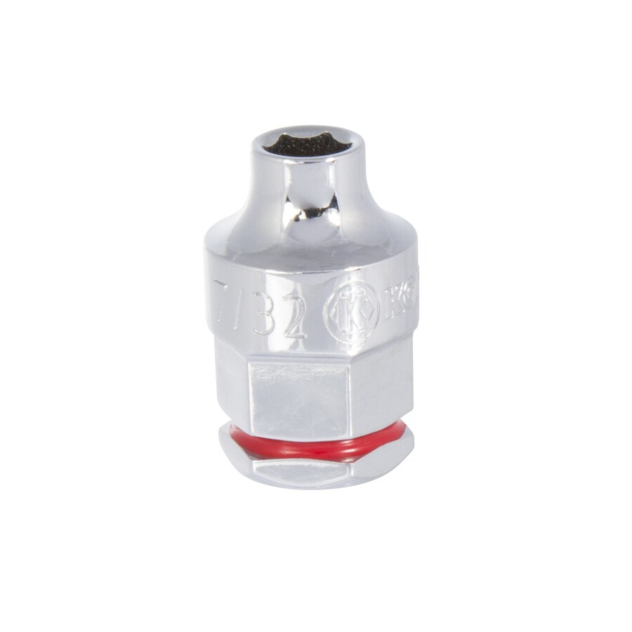 Kobalt 1/4-in Drive 7/32-in Shallow 12-Point Standard (SAE) Socket