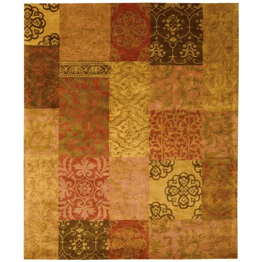 Nourison Jaipur Handcrafted Area Rug (Common: 3 x 5; Actual: 3.75-ft W x 5.75-ft L)
