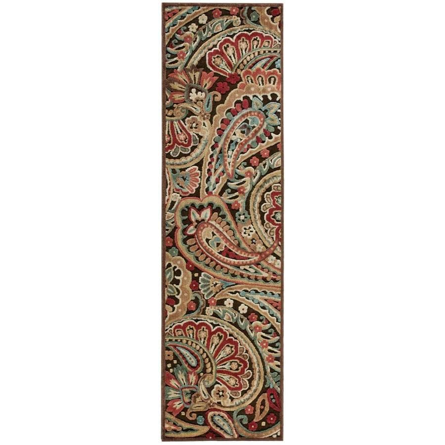 Nourison Graphic Illusions Area Rug (Common: 2 x 7; Actual: 2.25-ft W x 8-ft L)