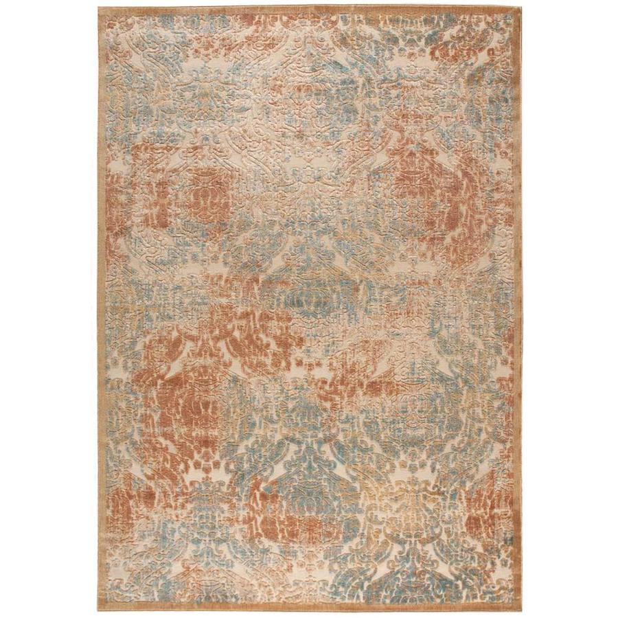 Black Graphic Woven Emerson Indoor Outdoor Area Rug: Nourison GRAPHIC ILLUSIONS LIGHT GOLD Indoor Area Rug