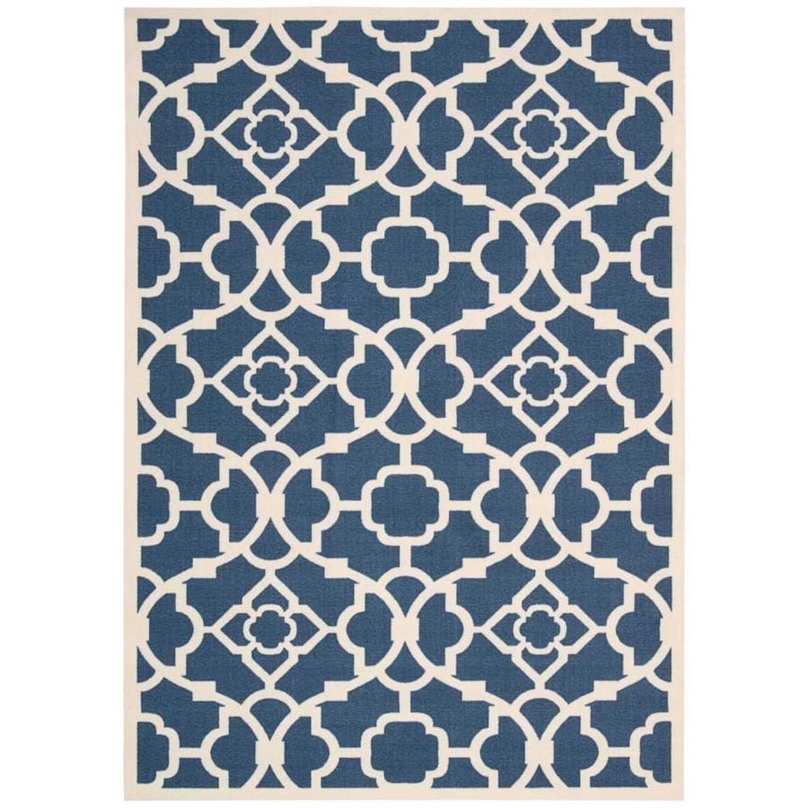 Shop Nourison Waverly Sun And Shade Lapis Indoor/Outdoor Area Rug ...