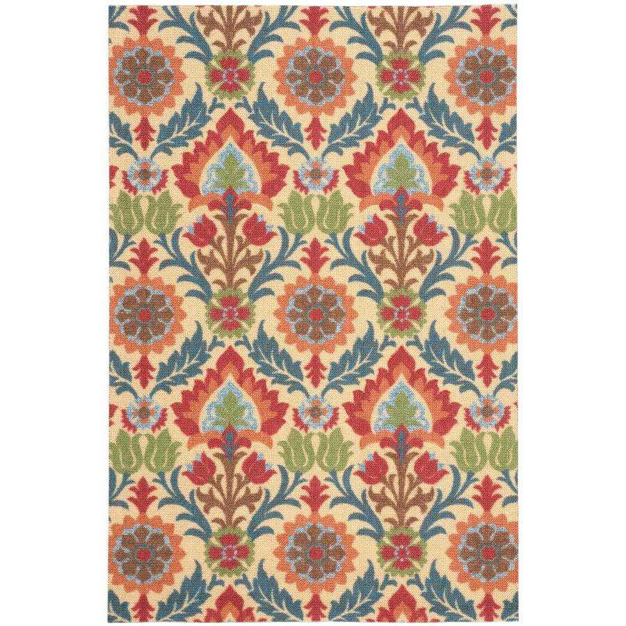 Nourison Wav03/ Global Awakeng Spice Rectangular Indoor Area Rug (Common: 4 x 6; Actual: 4-ft W x 6-ft L x 0.5-ft dia)