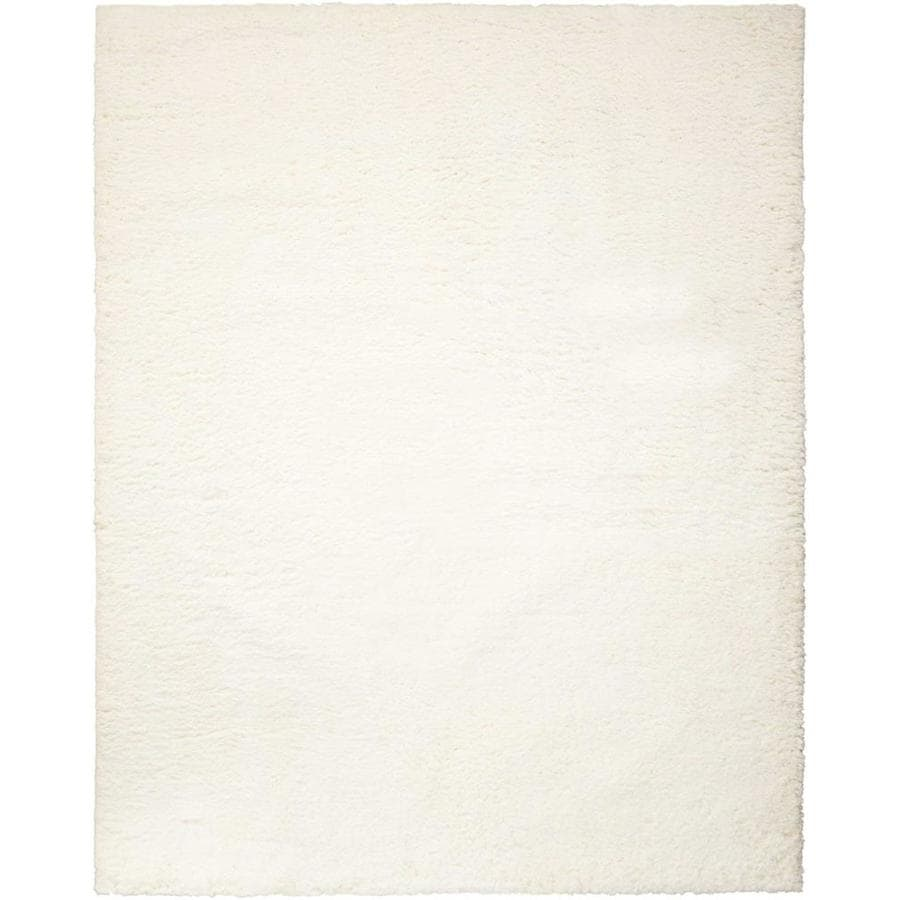 Nourison Galway Ivory Indoor Handcrafted Area Rug (Common: 5 x 8; Actual: 5-ft W x 7-ft L)