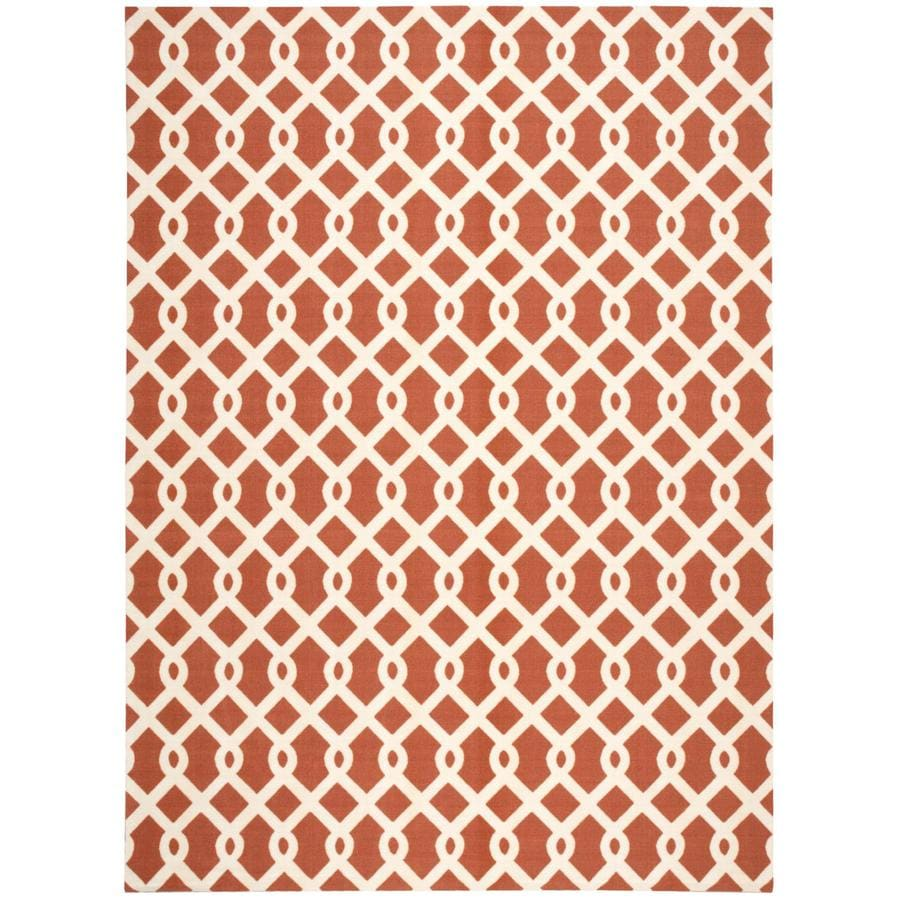 Waverly Sun and Shade Sienna Rectangular Indoor/Outdoor Machine-Made Novelty Area Rug (Common: 8 x 10; Actual: 7.9-ft W x 10.1-ft L)