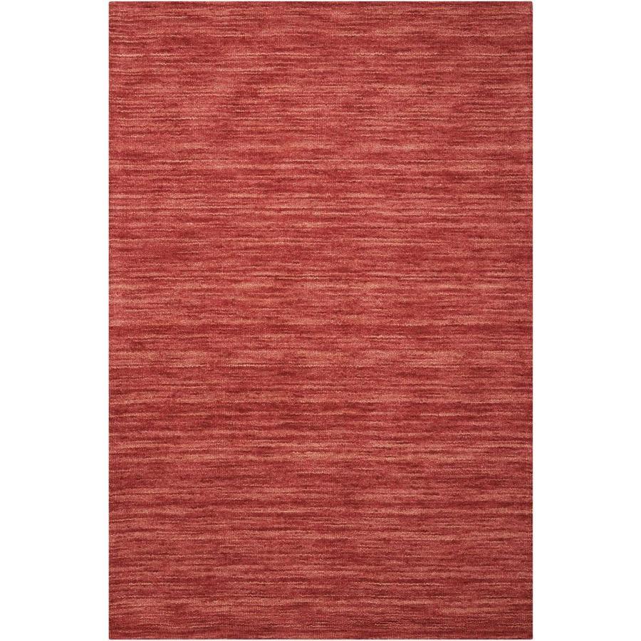 Nourison Wav10 Grand Suite Cordial Rectangular Indoor Handcrafted Area Rug (Common: 8 x 10; Actual: 8-ft W x 10.5-ft L x 0.5-ft dia)