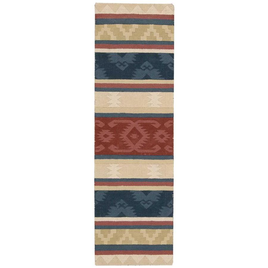 Nourison India House Handcrafted Area Rug (Common: 2 x 7; Actual: 2.25-ft W x 7.5-ft L)