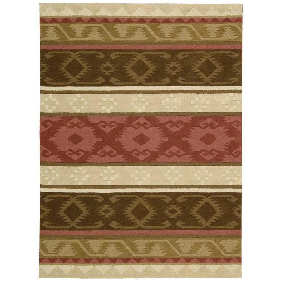 Nourison India House Espre Rectangular Indoor Handcrafted Area Rug (Common: 5 x 8; Actual: 5-ft W x 8-ft L x 0.5-ft dia)