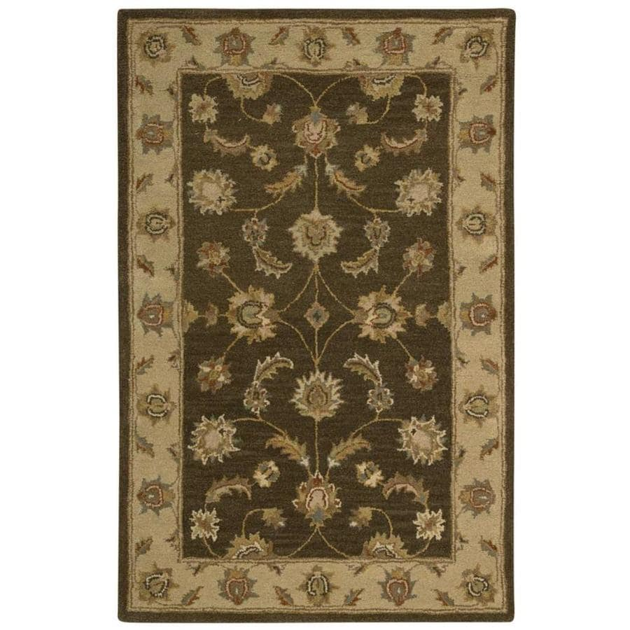 Area Rugs From India: Shop Nourison INDIA HOUSE Mushroom Indoor Handcrafted
