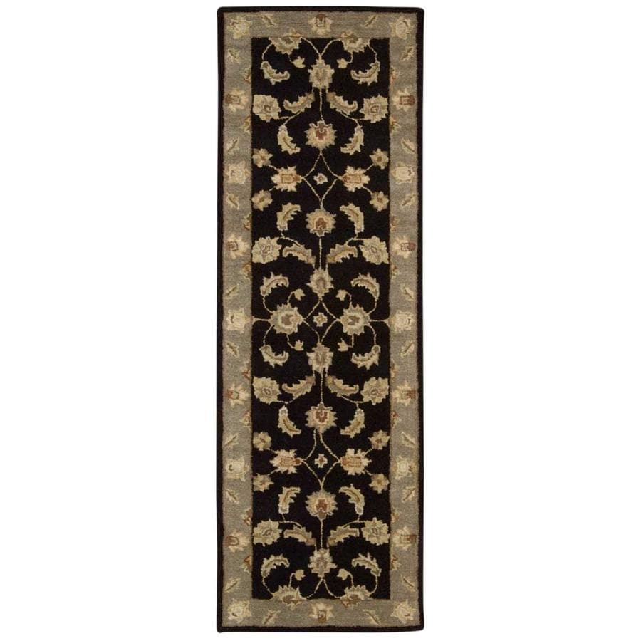 Area Rugs From India: Shop Nourison India House Black Indoor Handcrafted Area
