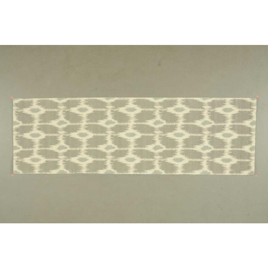 Nourison Enhance Gray Area Rug (Common: 3 x 8; Actual: 2.5-ft W x 8-ft L)