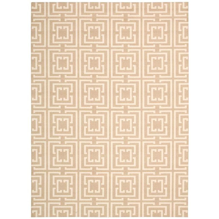 Nourison Enhance Tan Area Rug (Common: 3 x 4; Actual: 2.5-ft W x 4-ft L)