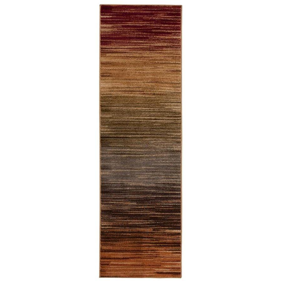 Nourison Paramount Multicolor Rectangular Indoor Area Rug (Common: 2 x 7; Actual: 2.17-ft W x 7.25-ft L x 0.5-ft dia)