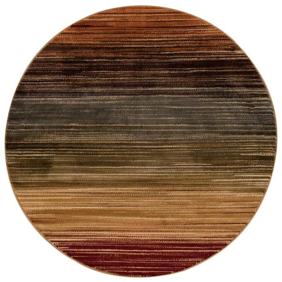 Nourison Paramount Multicolor Round Indoor Area Rug