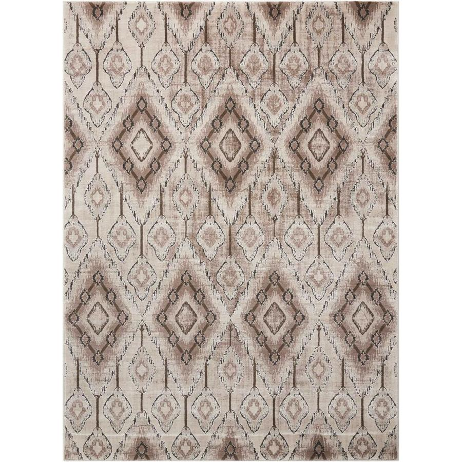 Nourison KARMA Beige  Indoor  Rustic/Vintage Area Rug (Common: 9 x 12; Actual: 9-ft W x 12-ft L)