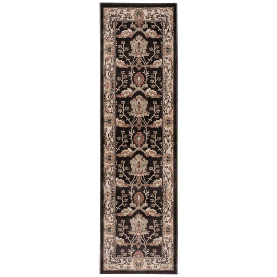 Nourison WALDEN Bistre  Indoor  Traditional Area Rug (Common: 2 x 8; Actual: 2-ft W x 7-ft L)