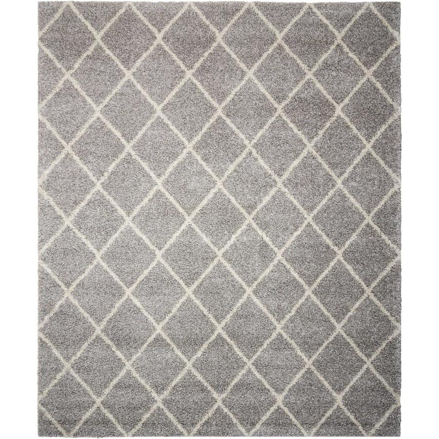 Persian Rug Brisbane: Shop Nourison Brisbane Ash Indoor Area Rug (Common: 8 X 11
