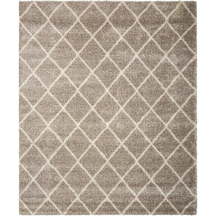 Persian Rug Brisbane: Nourison Brisbane Stone Rectangular Indoor Machine-Made