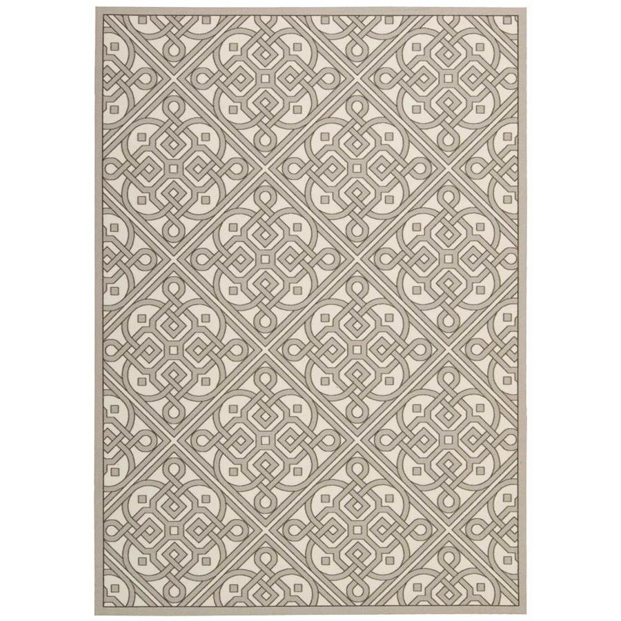 Nourison Waverly Sun And Shade Stone Indoor Outdoor Area Rug Common
