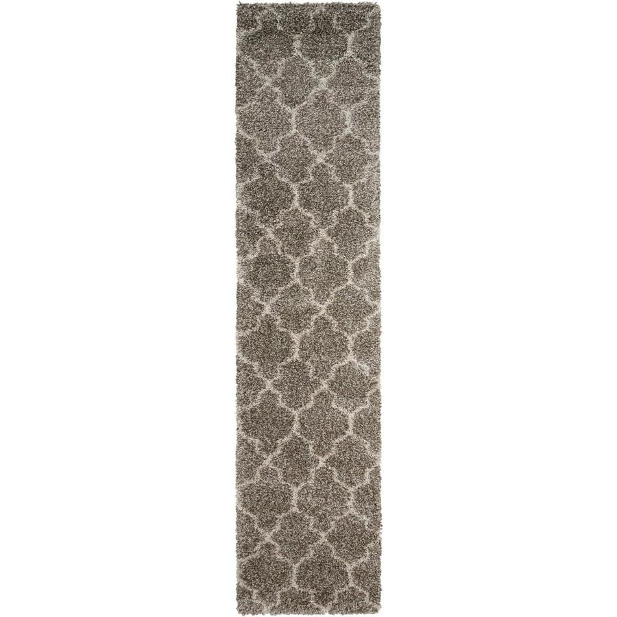Nourison Amore Stone Indoor Area Rug (Common: 2 x 10; Actual: 2.1667-ft W x 10-ft L)